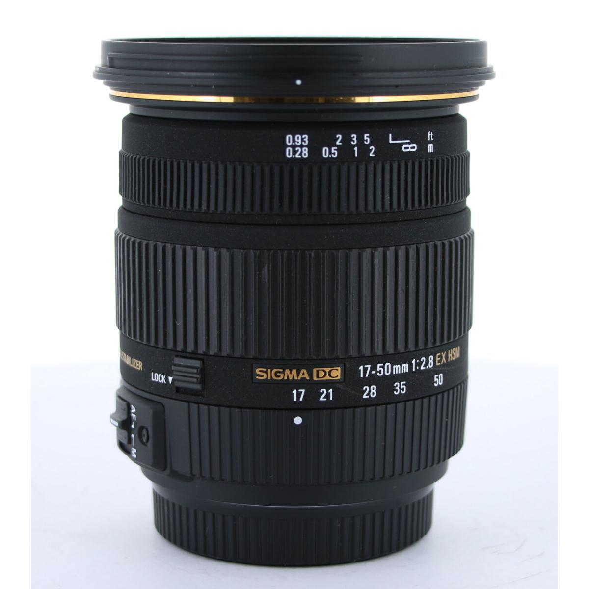 SIGMA α17-50mm F2.8DC EX HSM OS【中古】