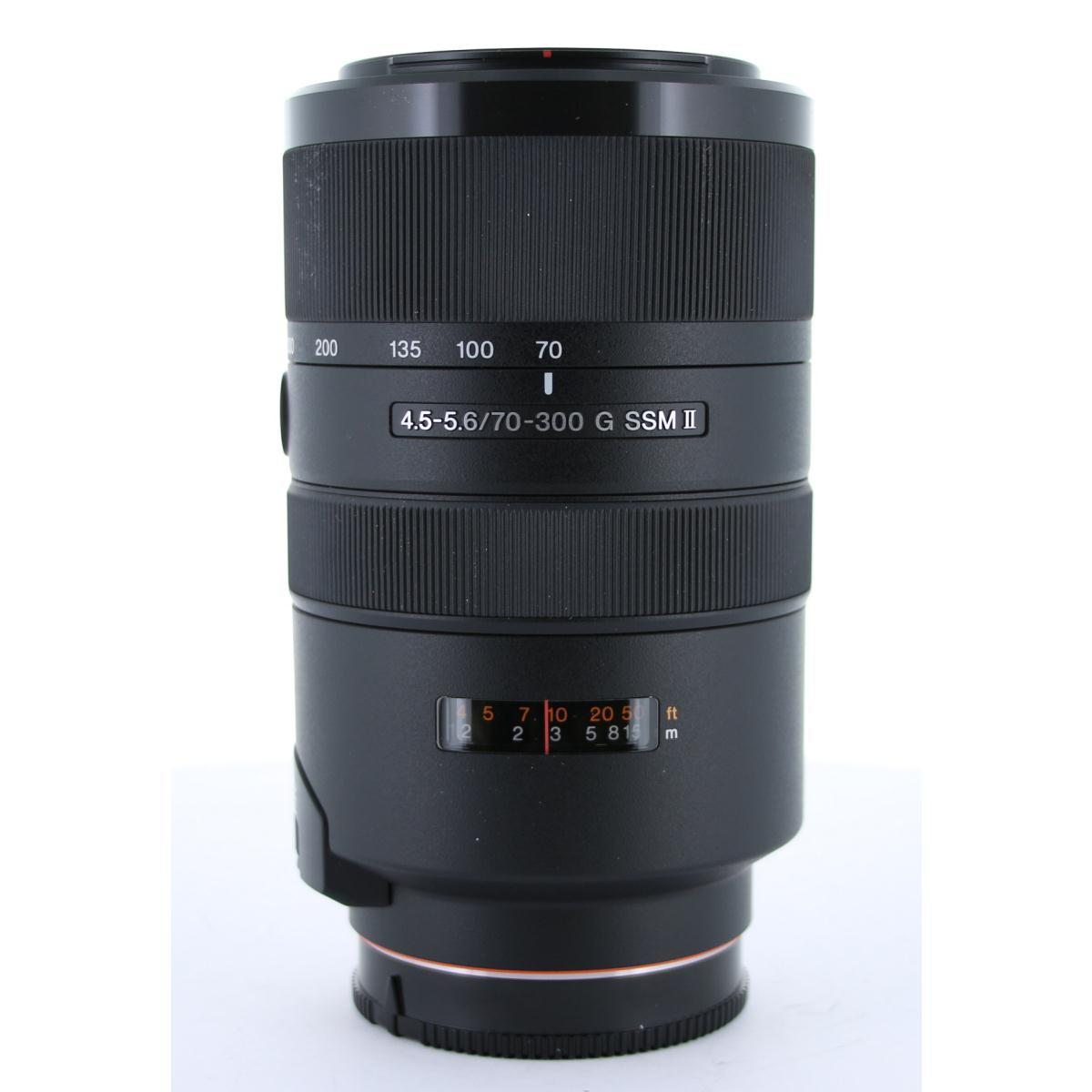 SONY 70-300mm F4.5-5.6G SSMII【中古】