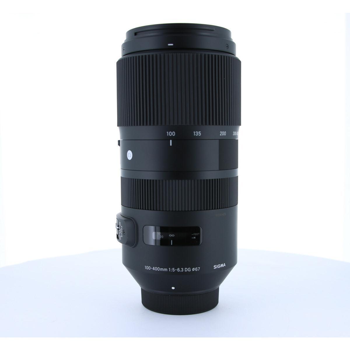 SIGMA ニコン(C)100-400mm F5-6.3DG OS【中古】