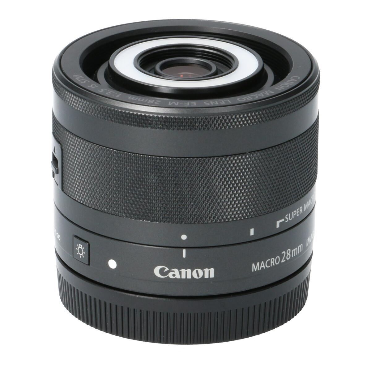 CANON EF-M28mm F3.5IS MACRO STM【中古】
