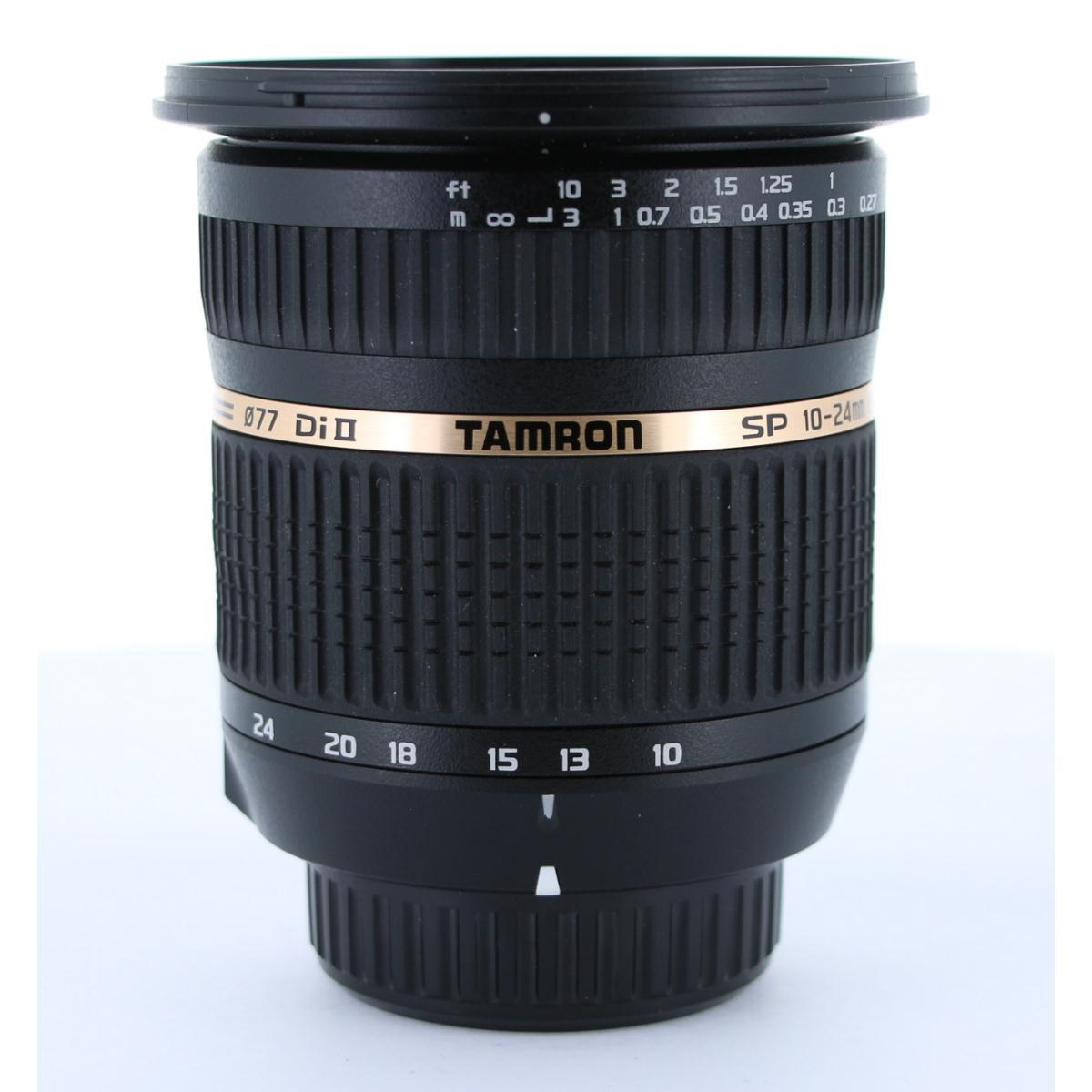 TAMRON ニコン10-24mm F3.5-4.5DIIIB001【中古】