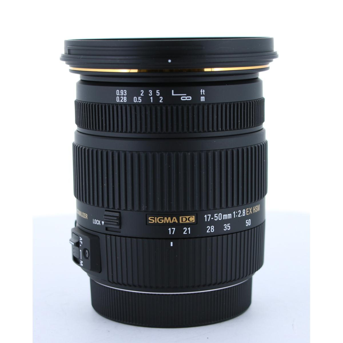 SIGMA EOS17-50mm F2.8EXDCOSHSM【中古】