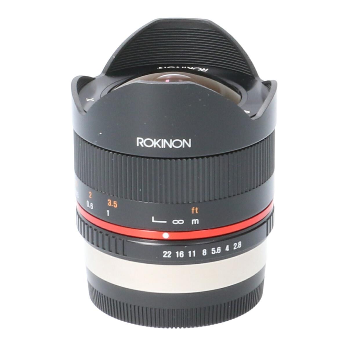 ROKINON フジX8mm F2.8II【中古】