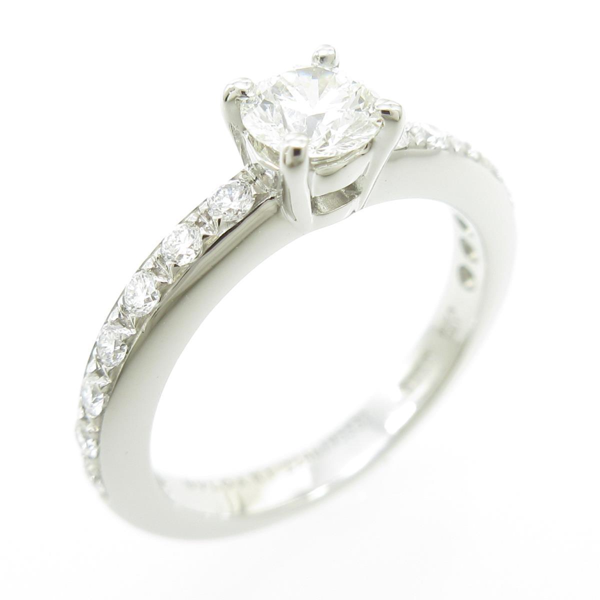 ブルガリ ダイヤモンドリング 0.31ct・H・VS2・EXT【中古】