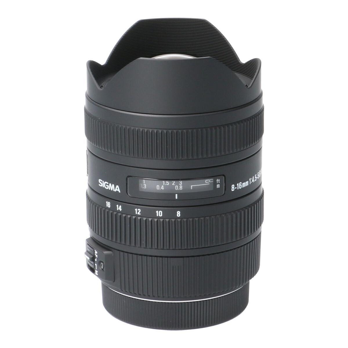 SIGMA EOS8-16mm F4.5-5.6DC HSM【中古】