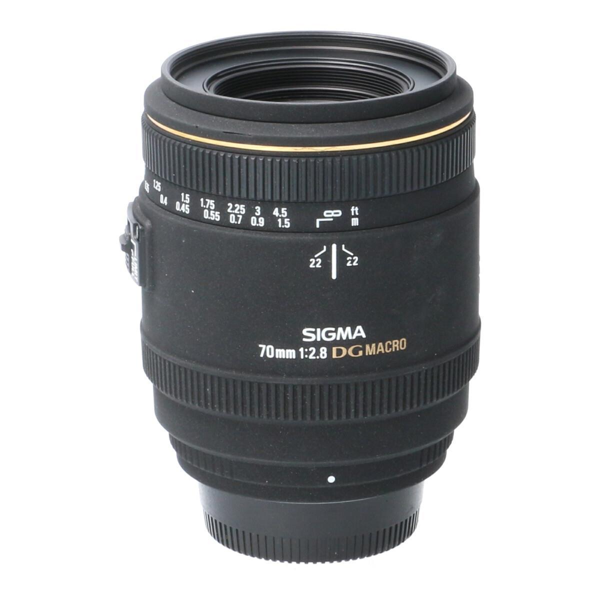 SIGMA ニコン70mm F2.8EX DG MACRO【中古】