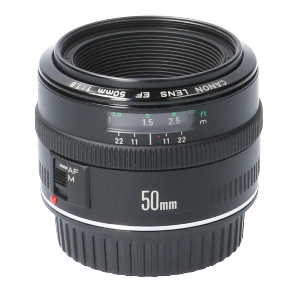 CANON EF50mm F1.8【中古】