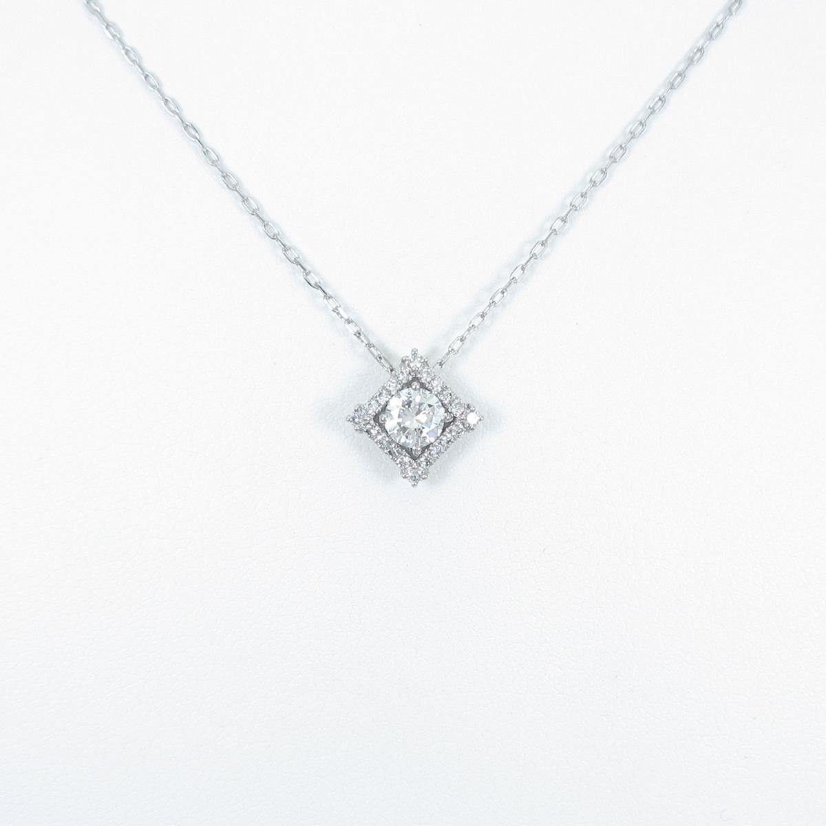 プラチナダイヤモンドネックレス 0.440ct・E・SI2・VG【中古】