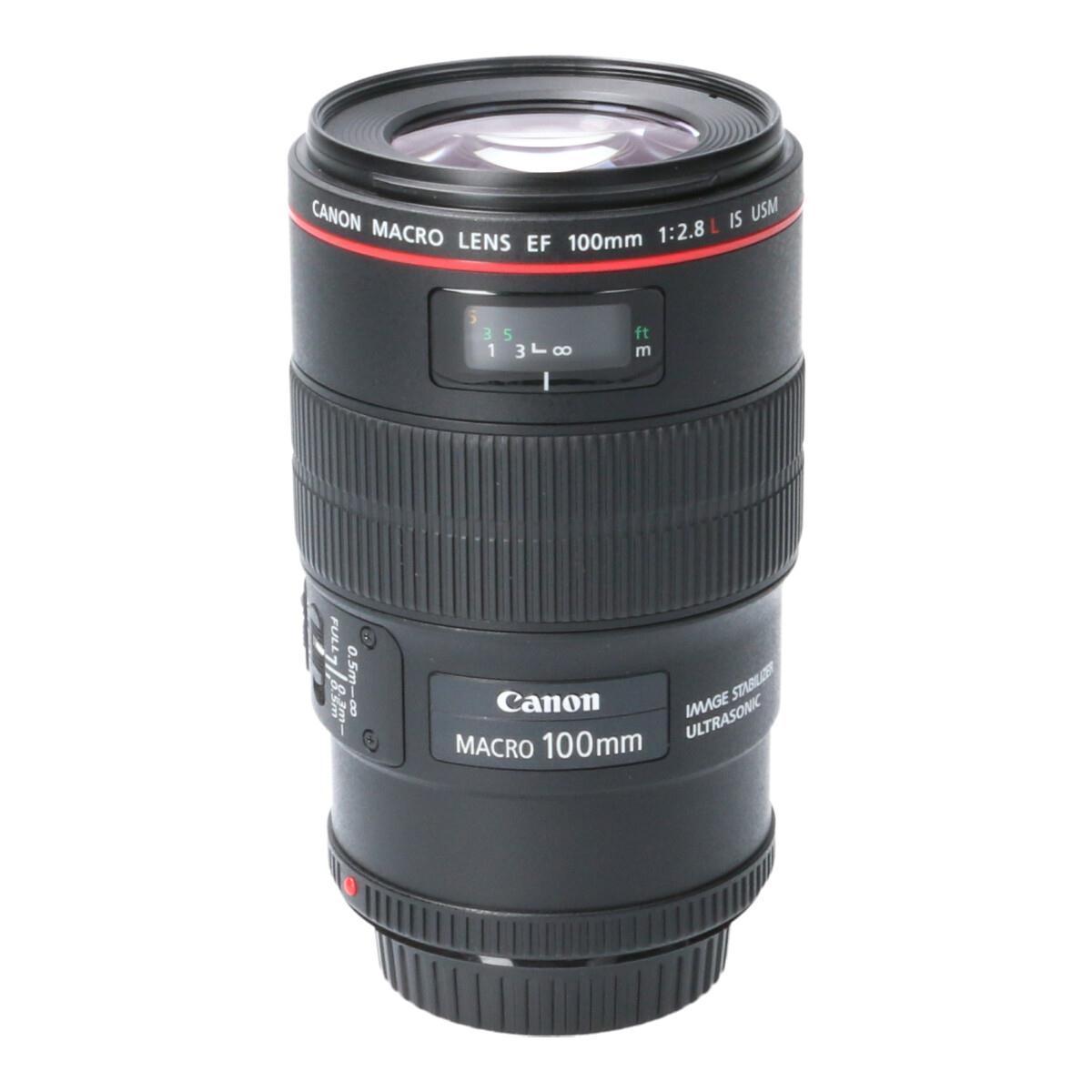 CANON EF100mm F2.8L MACRO IS【中古】