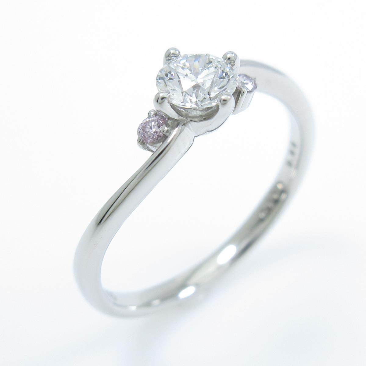 プラチナダイヤモンドリング 0.2885ct・F・SI1・EXT【中古】