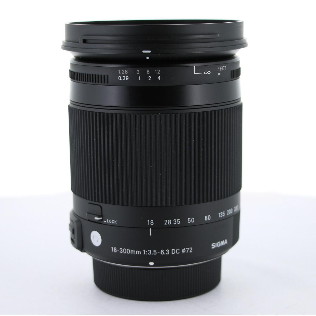 SIGMA ニコン(C)18-300mm F3.5-6.3DC【中古】