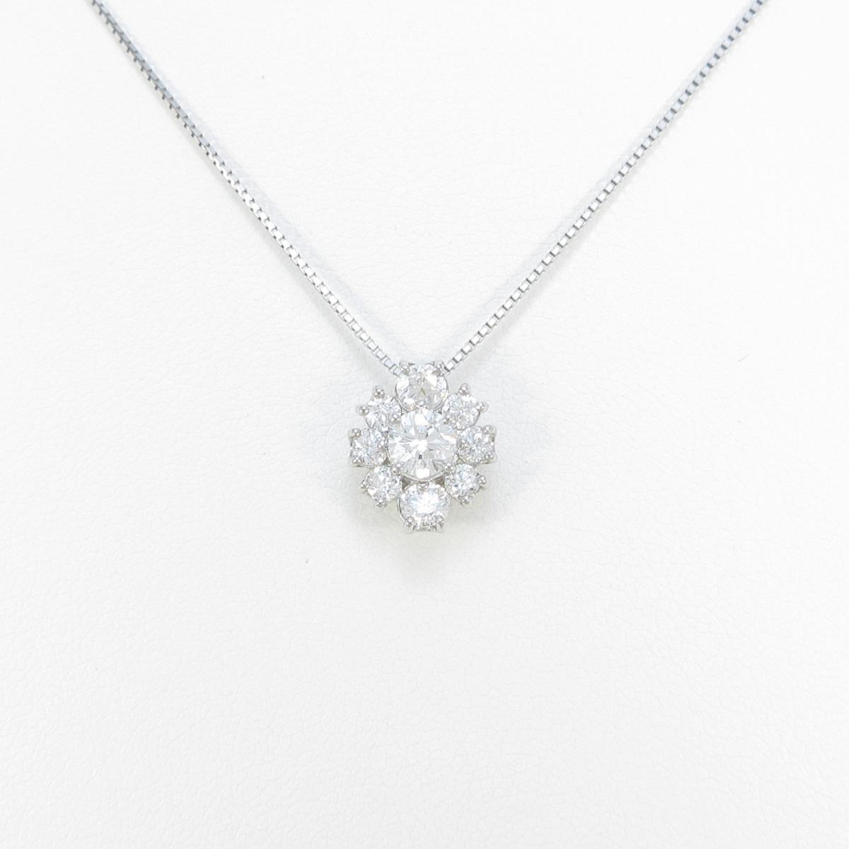 【新品】プラチナダイヤモンドネックレス 0.339ct・F・SI2・VG【新品】
