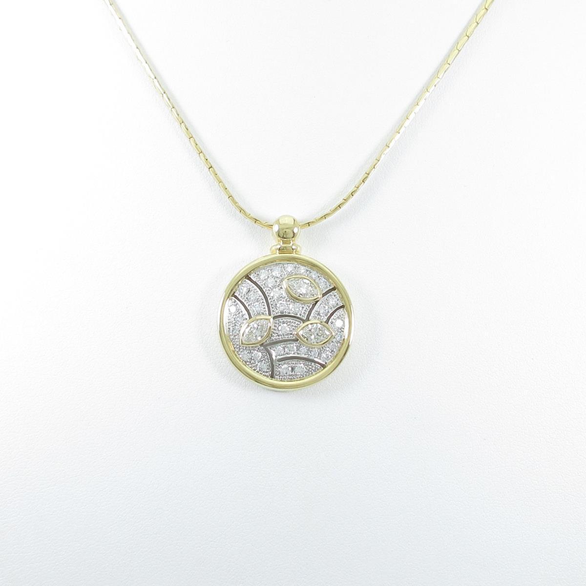今季一番 K18YG/PT ダイヤモンドネックレス【】, ジーパンセンターサカイ:83fd6a16 --- newplan.com