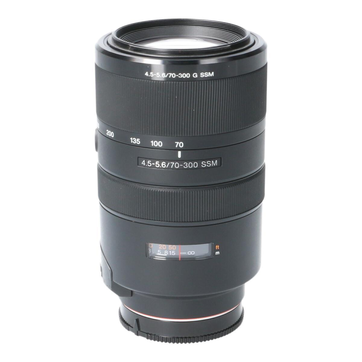 SONY 70-300mm F4.5-5.6G SSM【中古】