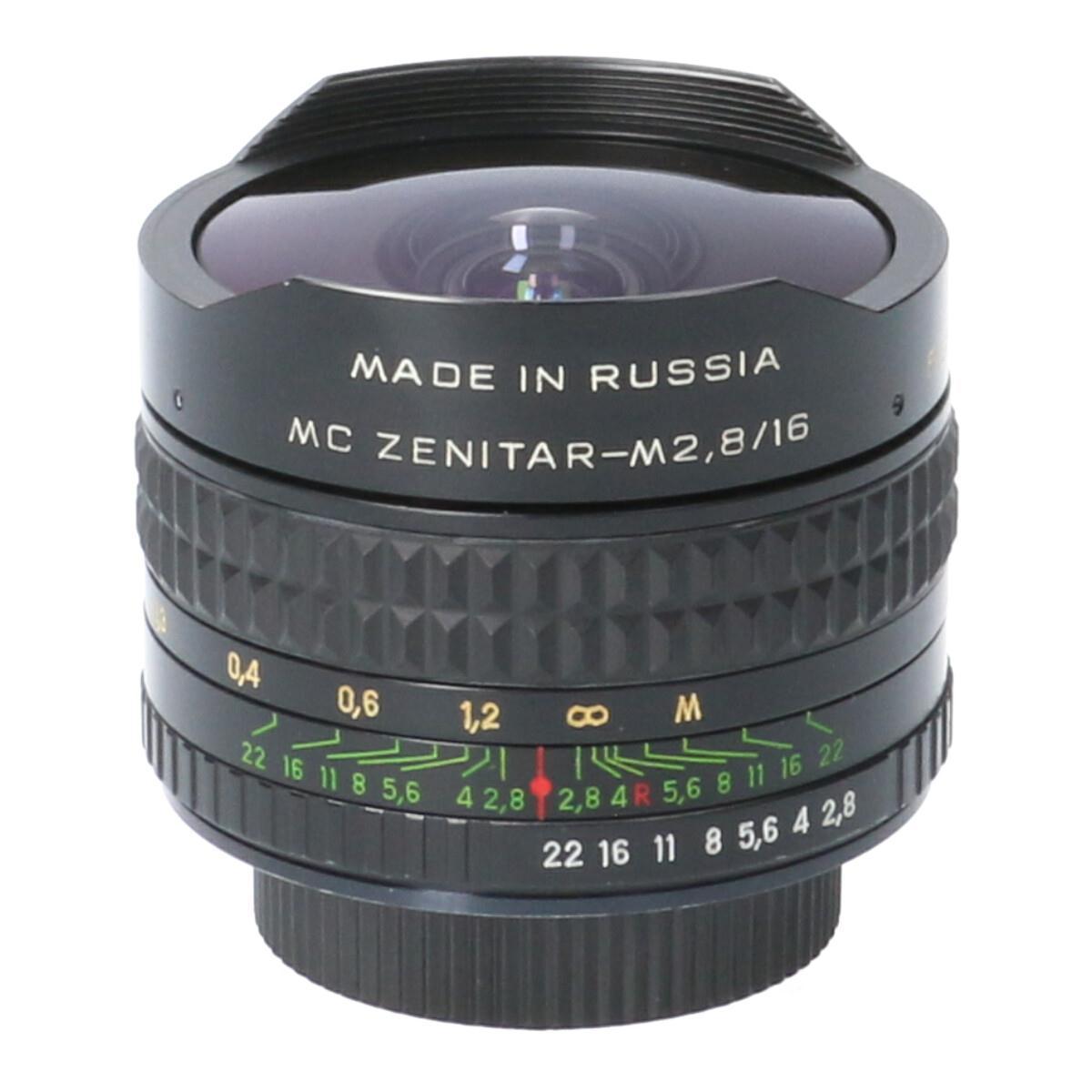 ZENIT MC ZENITAR 16mm F2.8(M42)【中古】