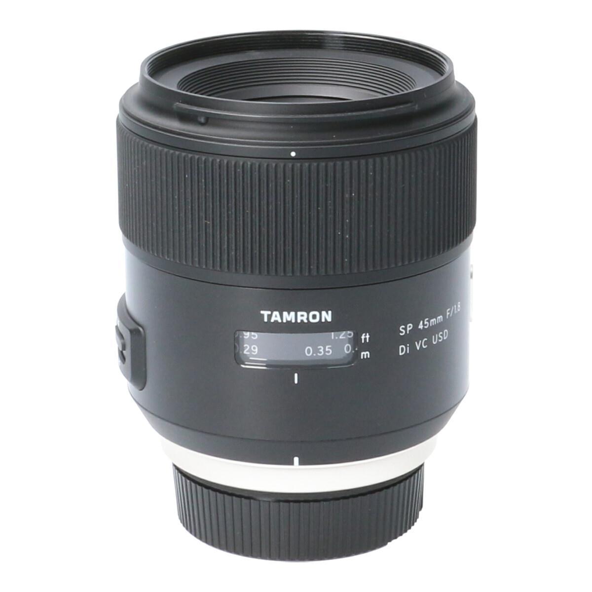 TAMRON ニコン45mm F1.8DI VC USD F013【中古】