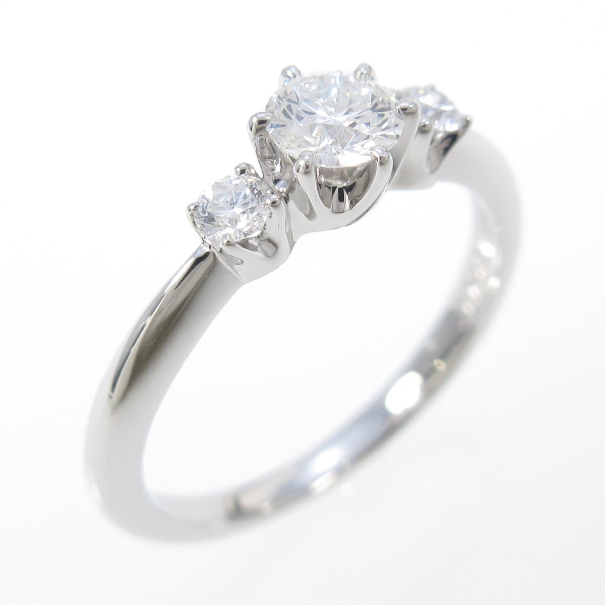 ミキモト ダイヤモンドリング 0.21ct・D・VVS2・3EXT【中古】