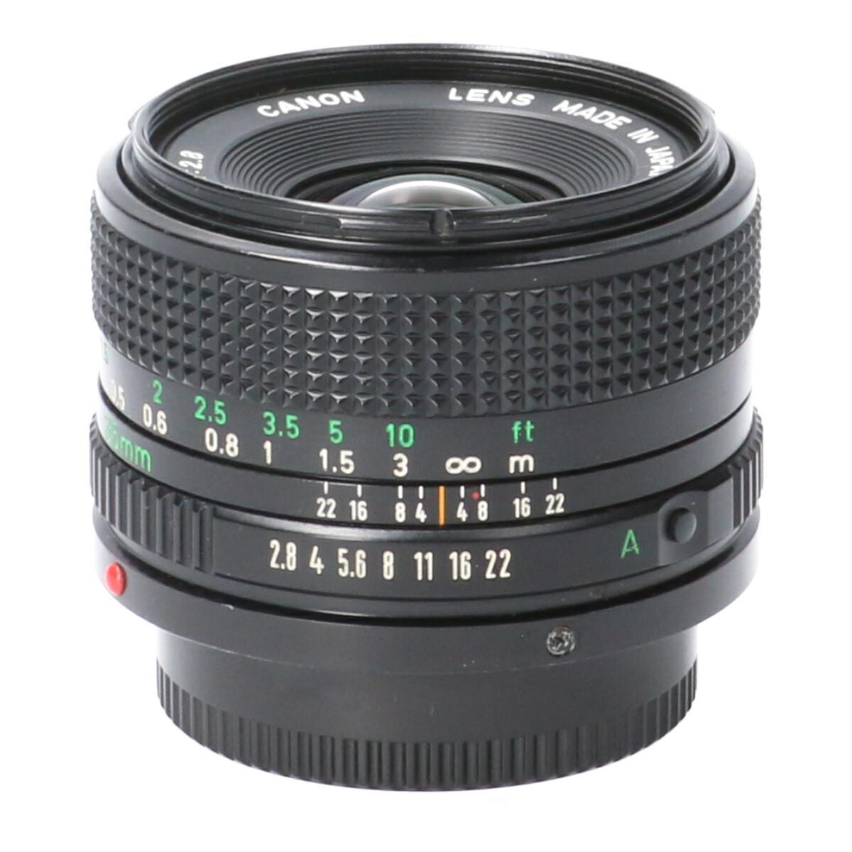 CANON NEW FD35mm F2.8【中古】