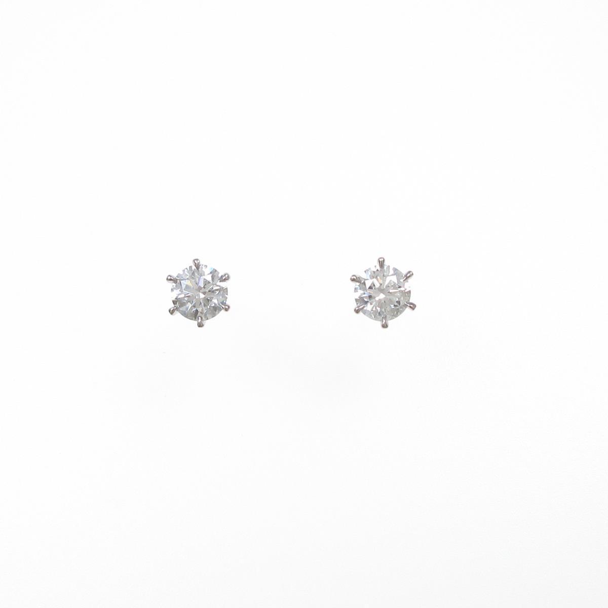 【新品】プラチナダイヤモンドピアス 0.402ct・0.402ct・G・SI2・VG【新品】