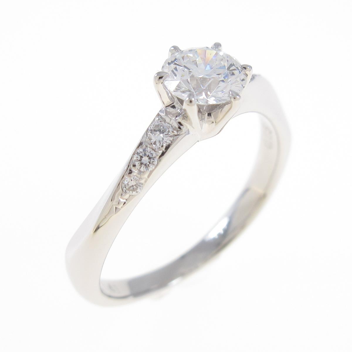 タサキ ダイヤモンドリング 0.41ct【中古】