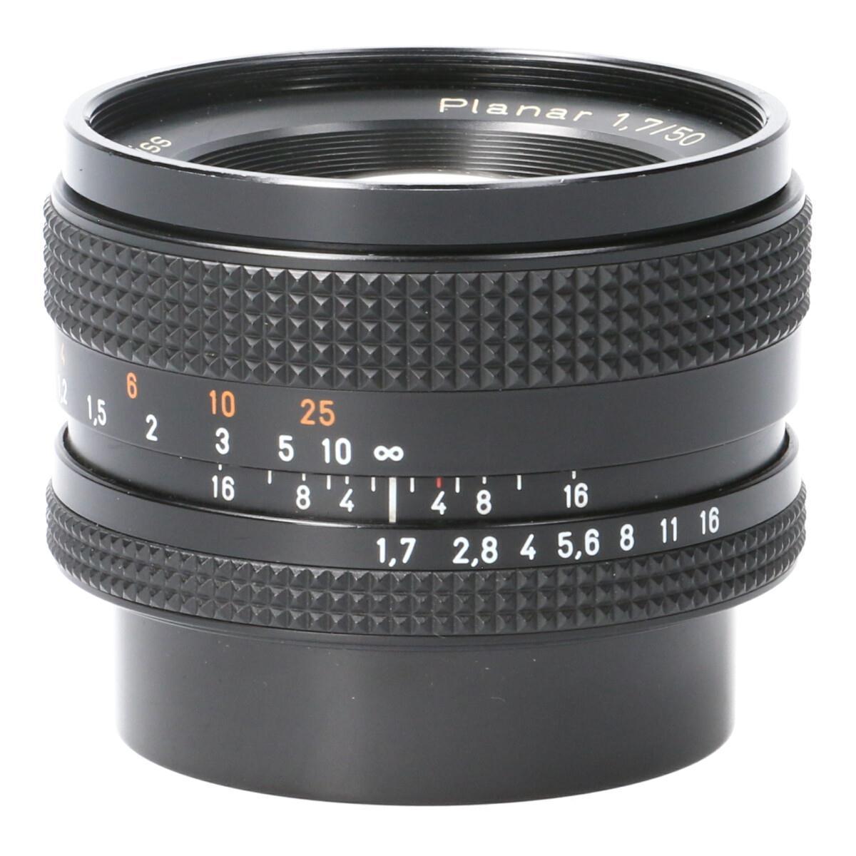 CONTAX PLANAR50mm F1.7AE(J)【中古】