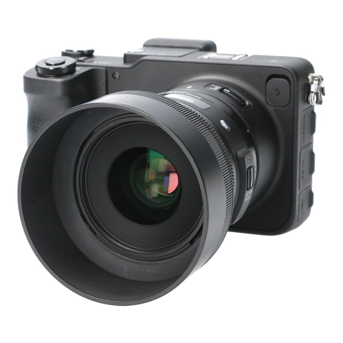 SIGMA SD QUATTRO A30mm F1.4DC KIT【中古】