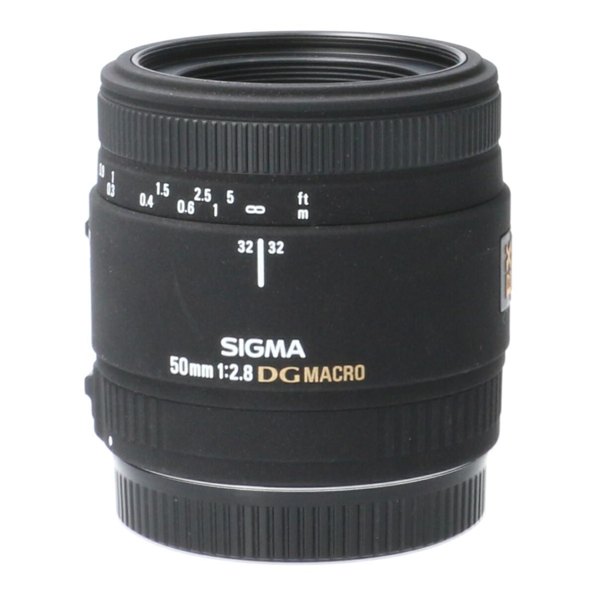 SIGMA EOS50mm F2.8EX DG MACRO【中古】