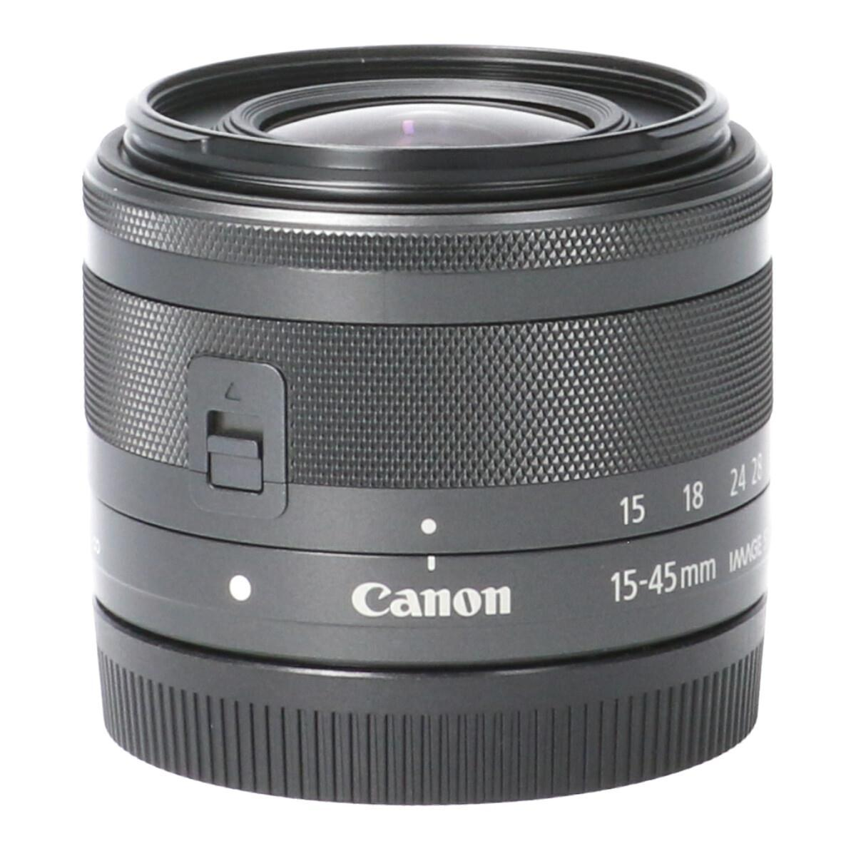 CANON EF-M15-45mm F3.5-6.3IS STM【中古】