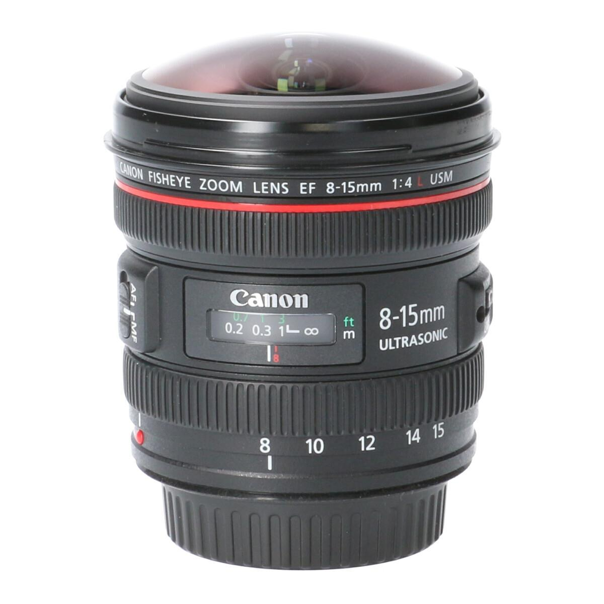 CANON EF8-15mm F4L FISHEYE USM【中古】