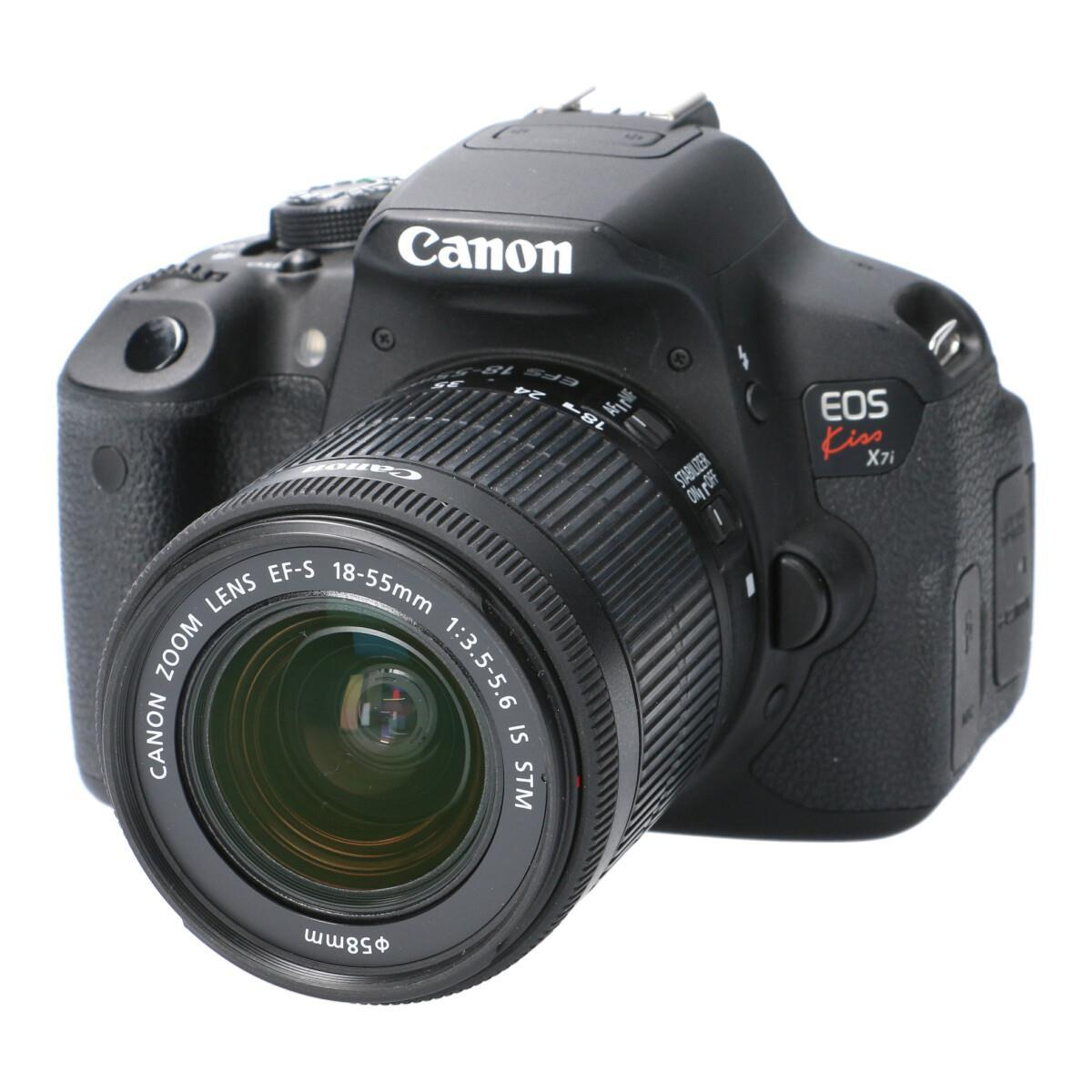 CANON EOS KISS X7I18-55IS STM【中古】