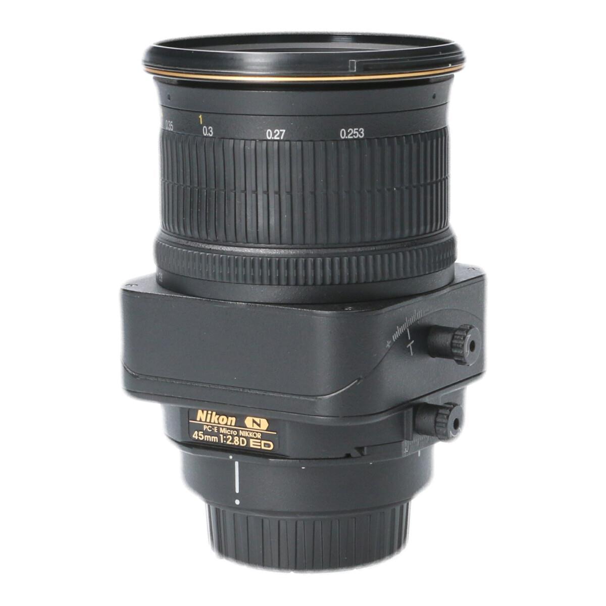 NIKON PC-E45mm F2.8D MICRO【中古】