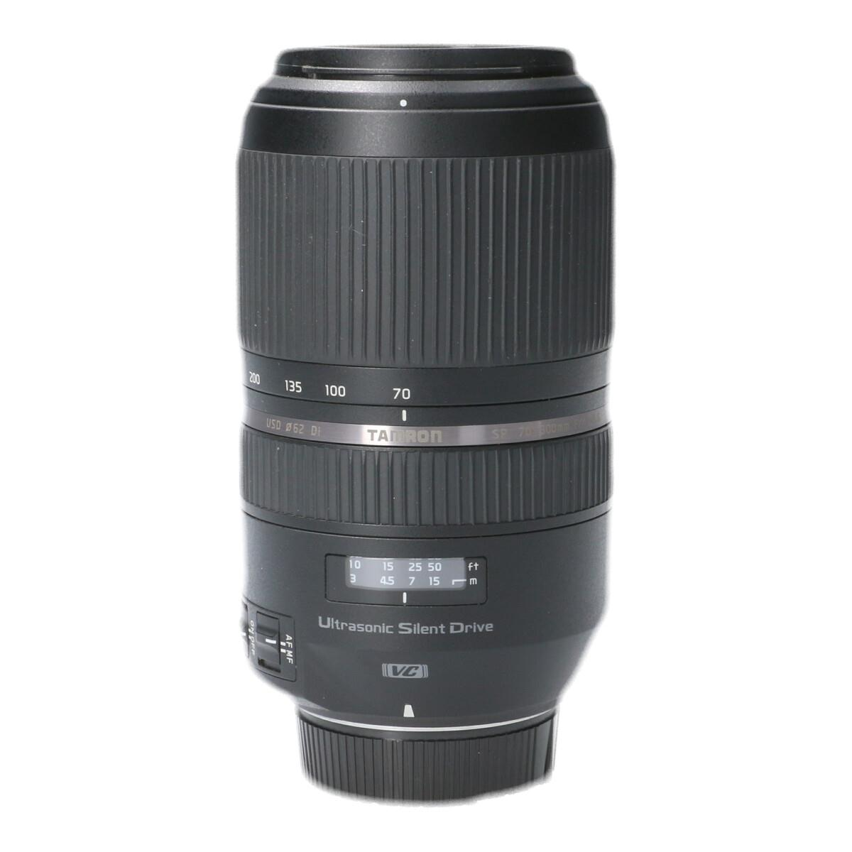 TAMRON ニコン(A030)70-300mm F4-5.6DIVC【中古】