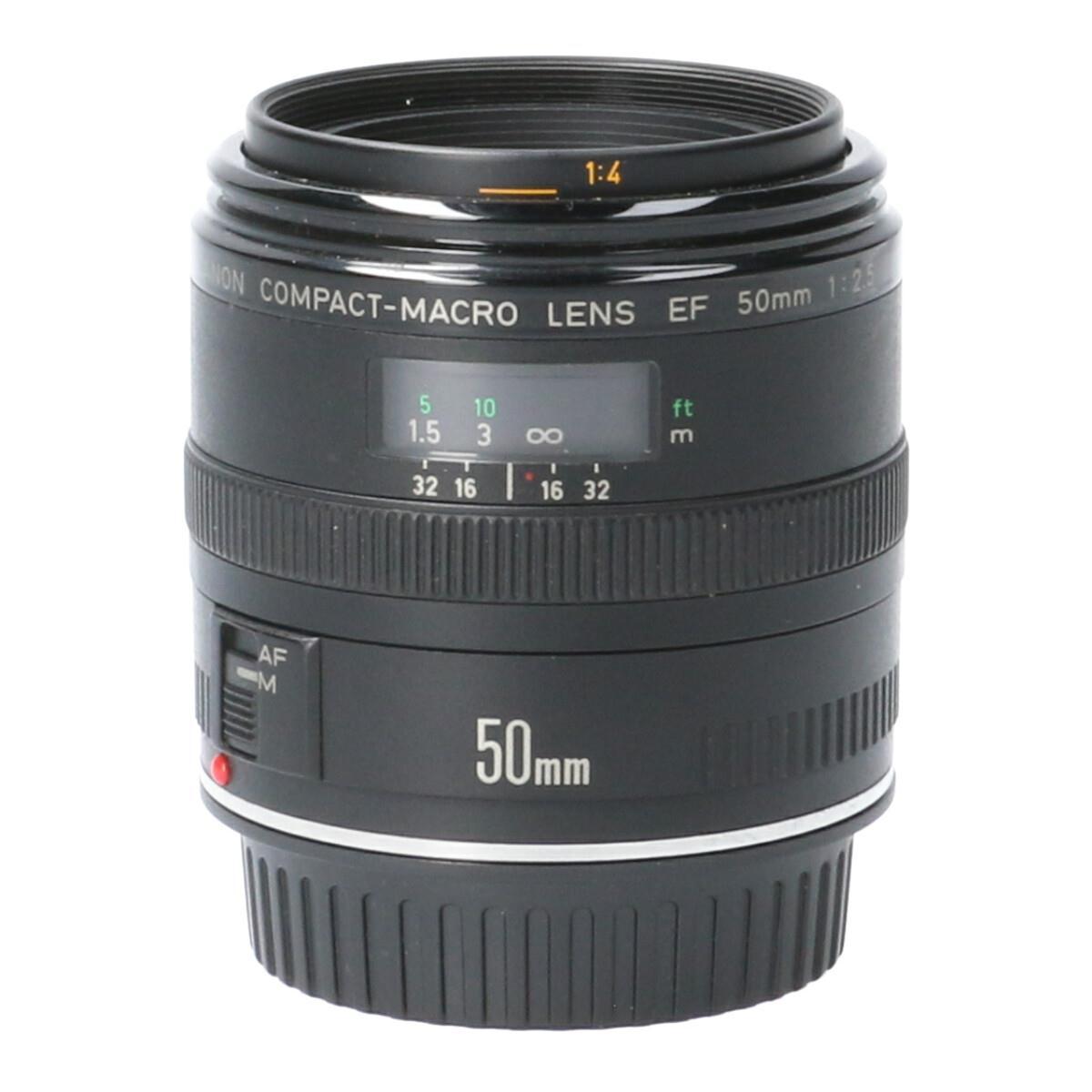 CANON EF50mm F2.5コンパクトMACRO【中古】