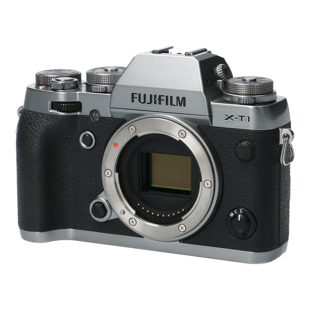 FUJIFILM X-T1グラファイトシルバー【中古】