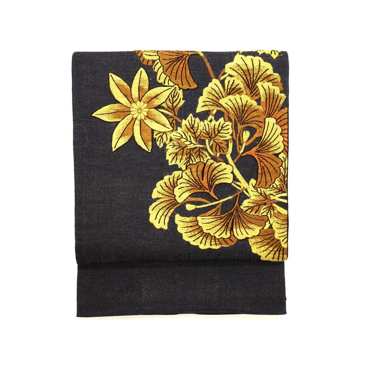 袋帯 紬織【中古】