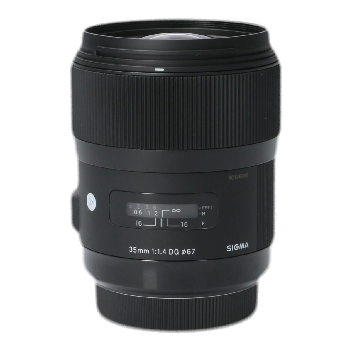SIGMA EOS(A)35mm F1.4DG HSM【中古】