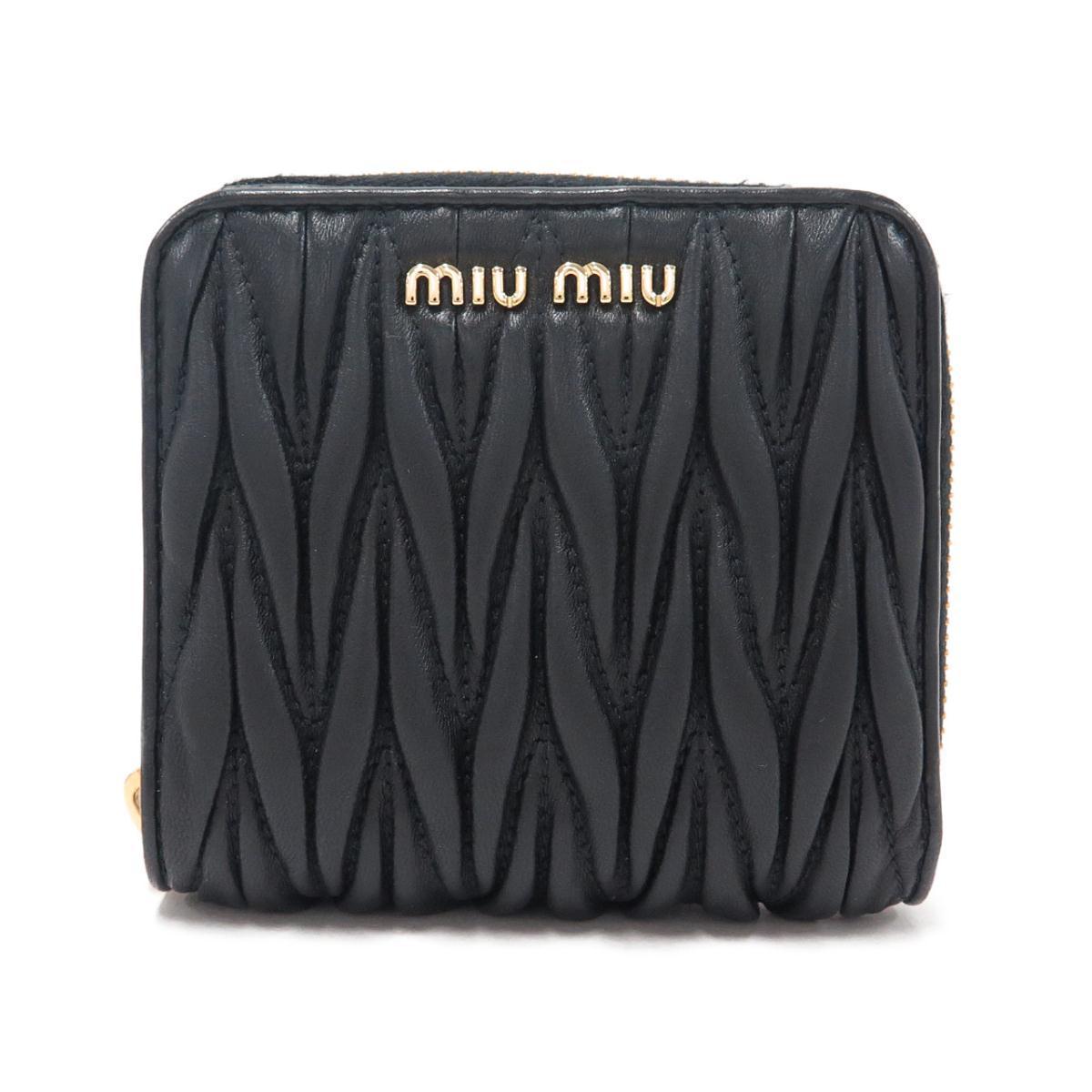 ミュウミュウ 財布 5ML522【中古】