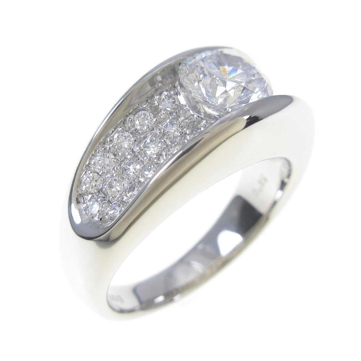 【リメイク】プラチナダイヤモンドリング 1.003ct・E・SI2・EXT【中古】