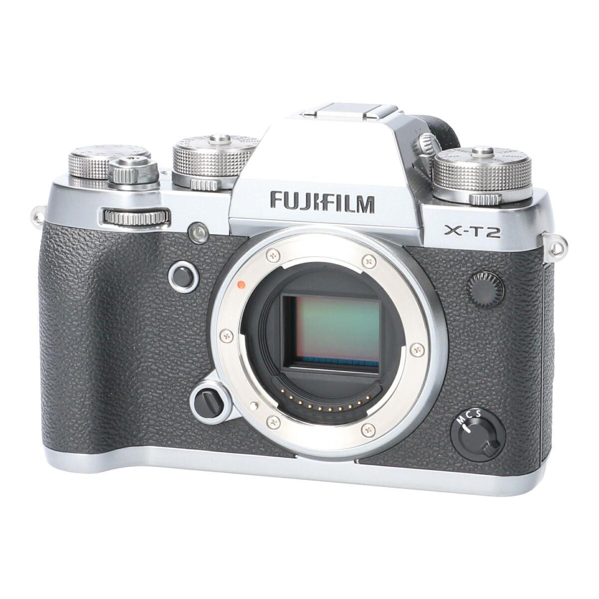 FUJIFILM X-T2グラファイトシルバー【中古】