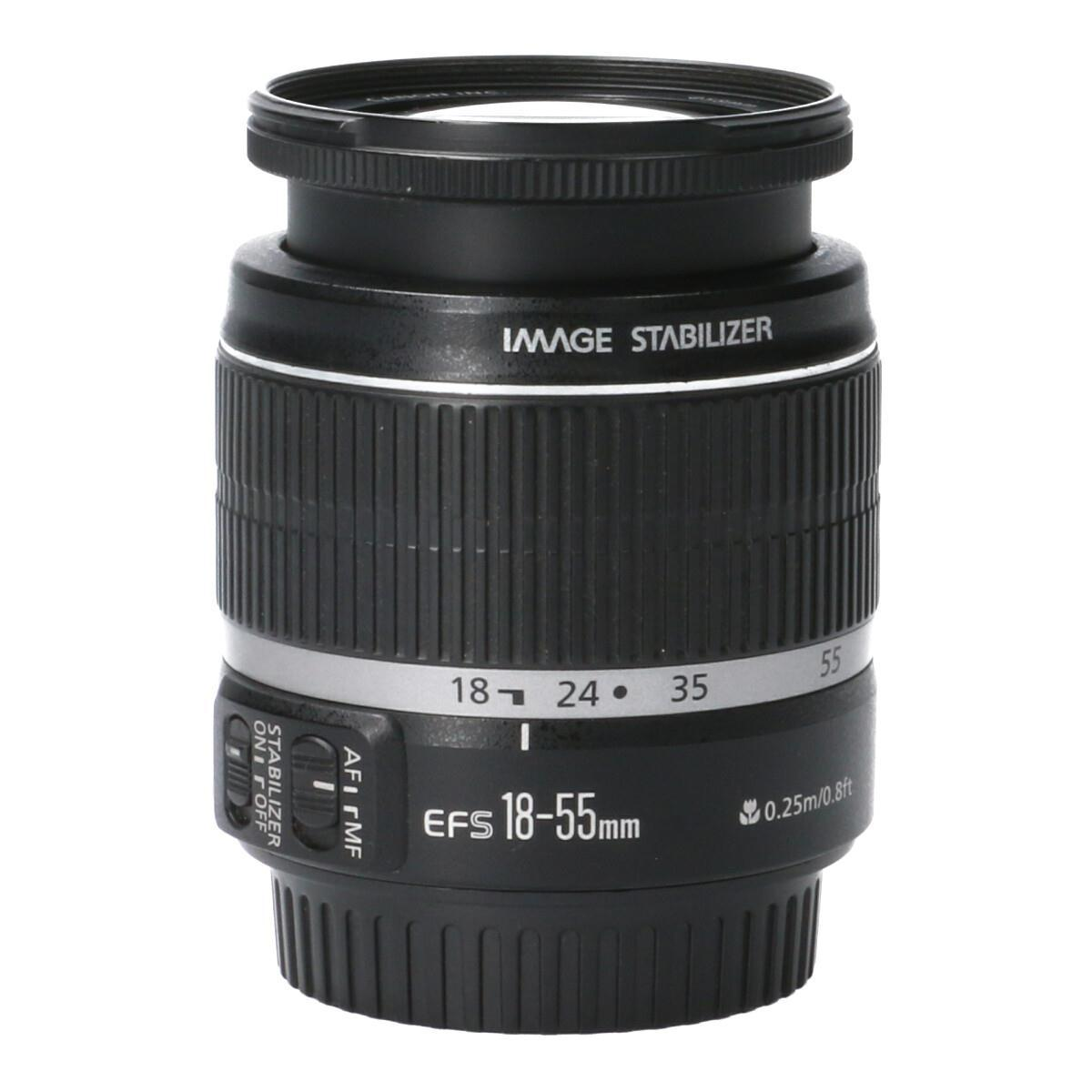 CANON EF-S18-55mm F3.5-5.6IS【中古】