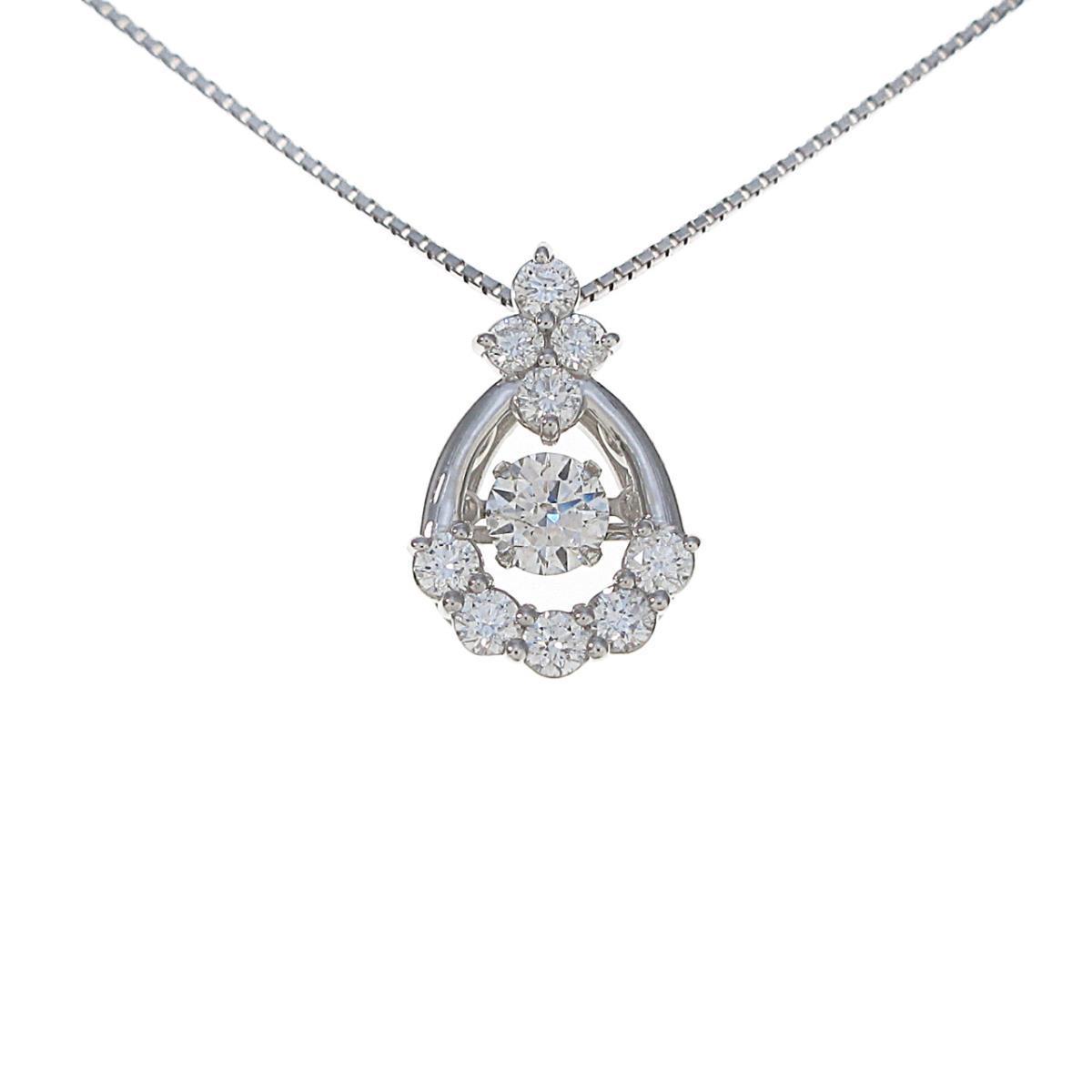 【新品】プラチナ ダイヤモンドネックレス 0.307ct・F・SI2・VG【新品】