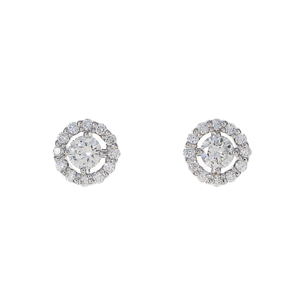 【新品】プラチナ ダイヤモンドピアス 0.209ct・0.200ct・G・VS1・GOOD【新品】