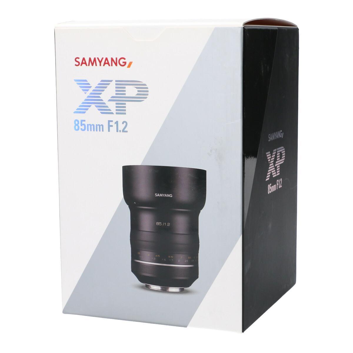 【未使用品】SAMYANG EOS XP85mm F1.2【中古】