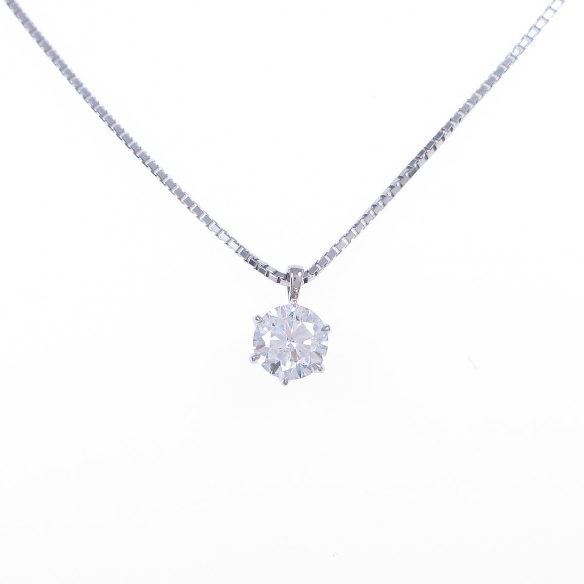【新品】プラチナダイヤモンドネックレス 0.511ct・G・SI2・VG【新品】