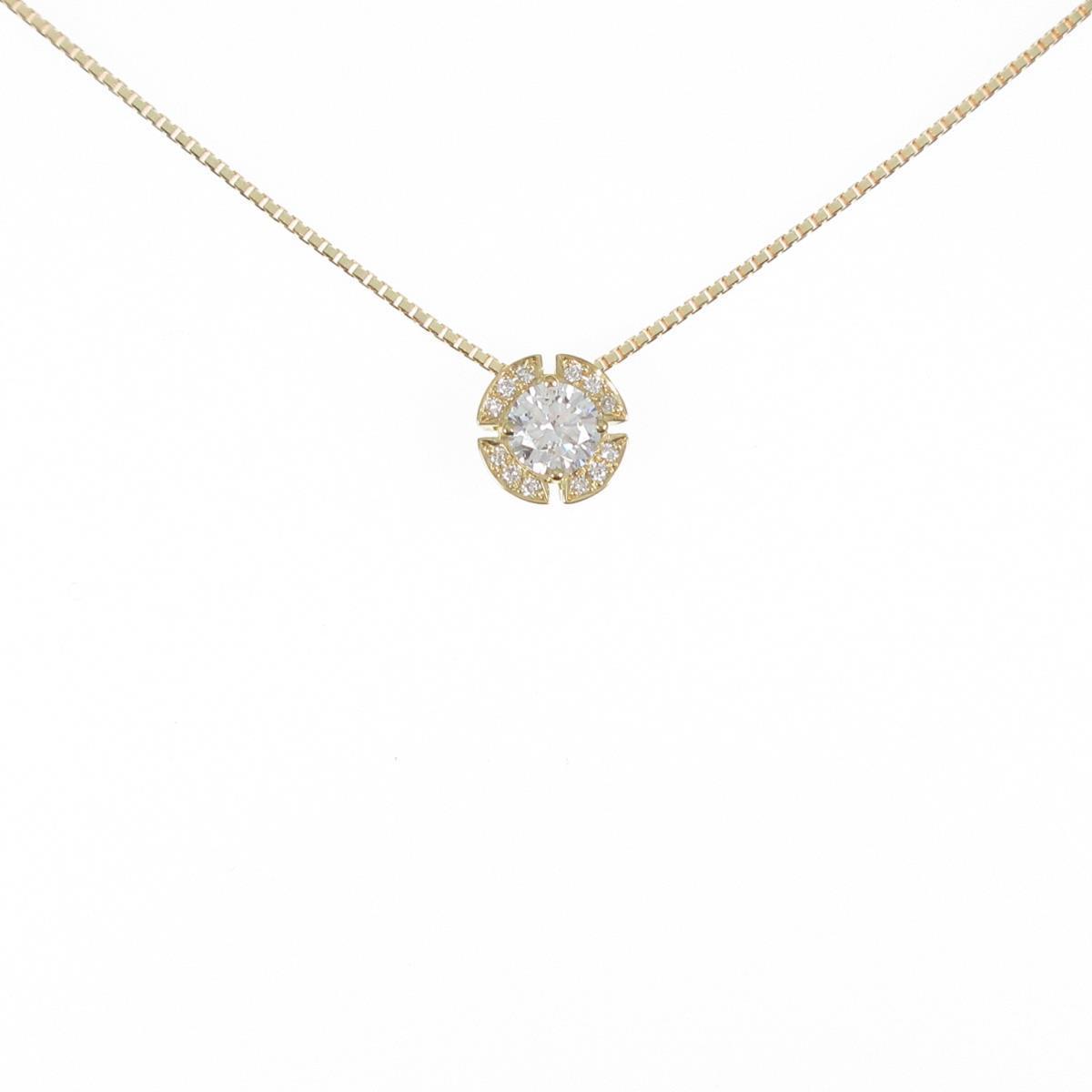 【新品】K18YG ダイヤモンドネックレス 0.252ct・F・SI2・VG【新品】