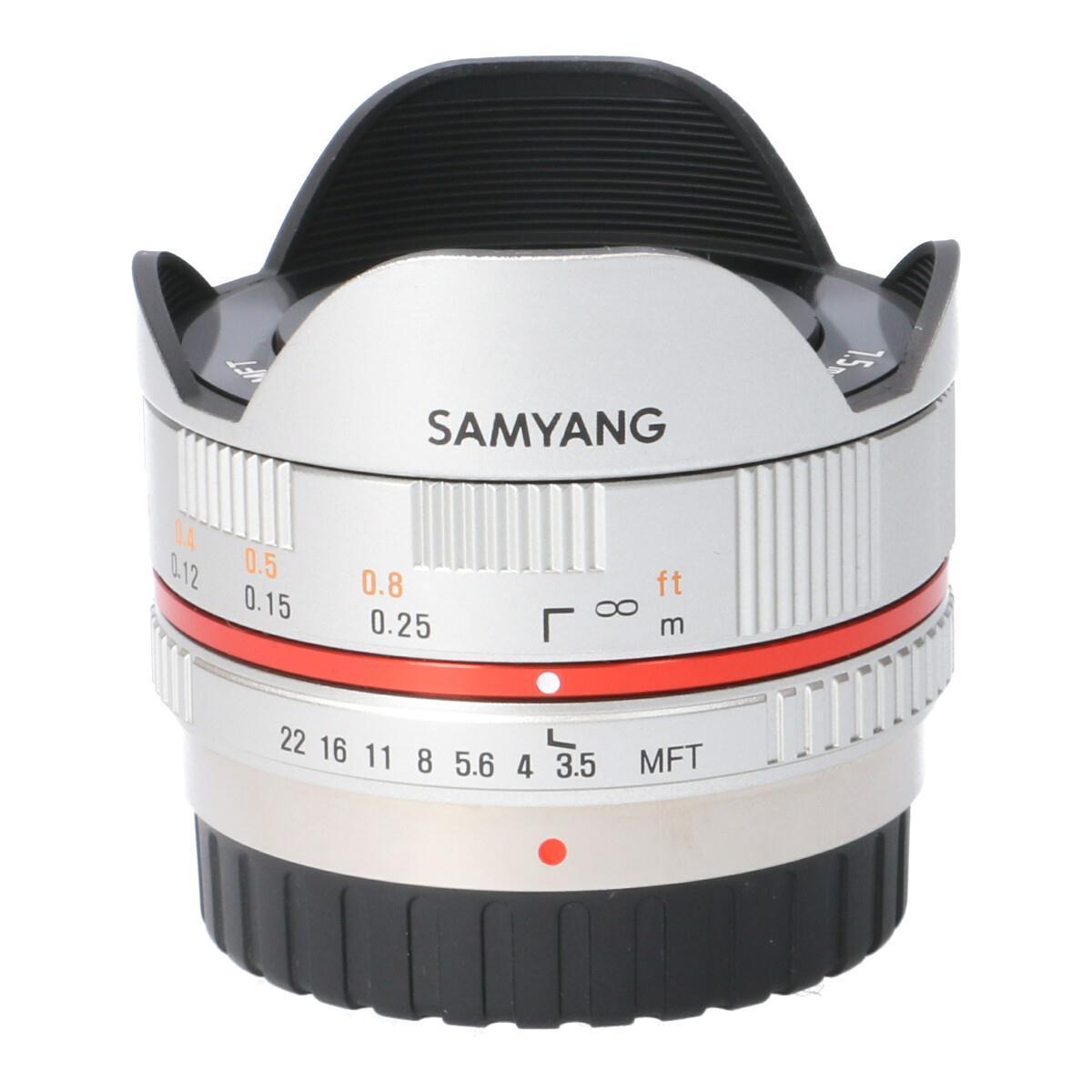 SAMYANG MFT7.5mm F3.5UMC FISHEYE【中古】