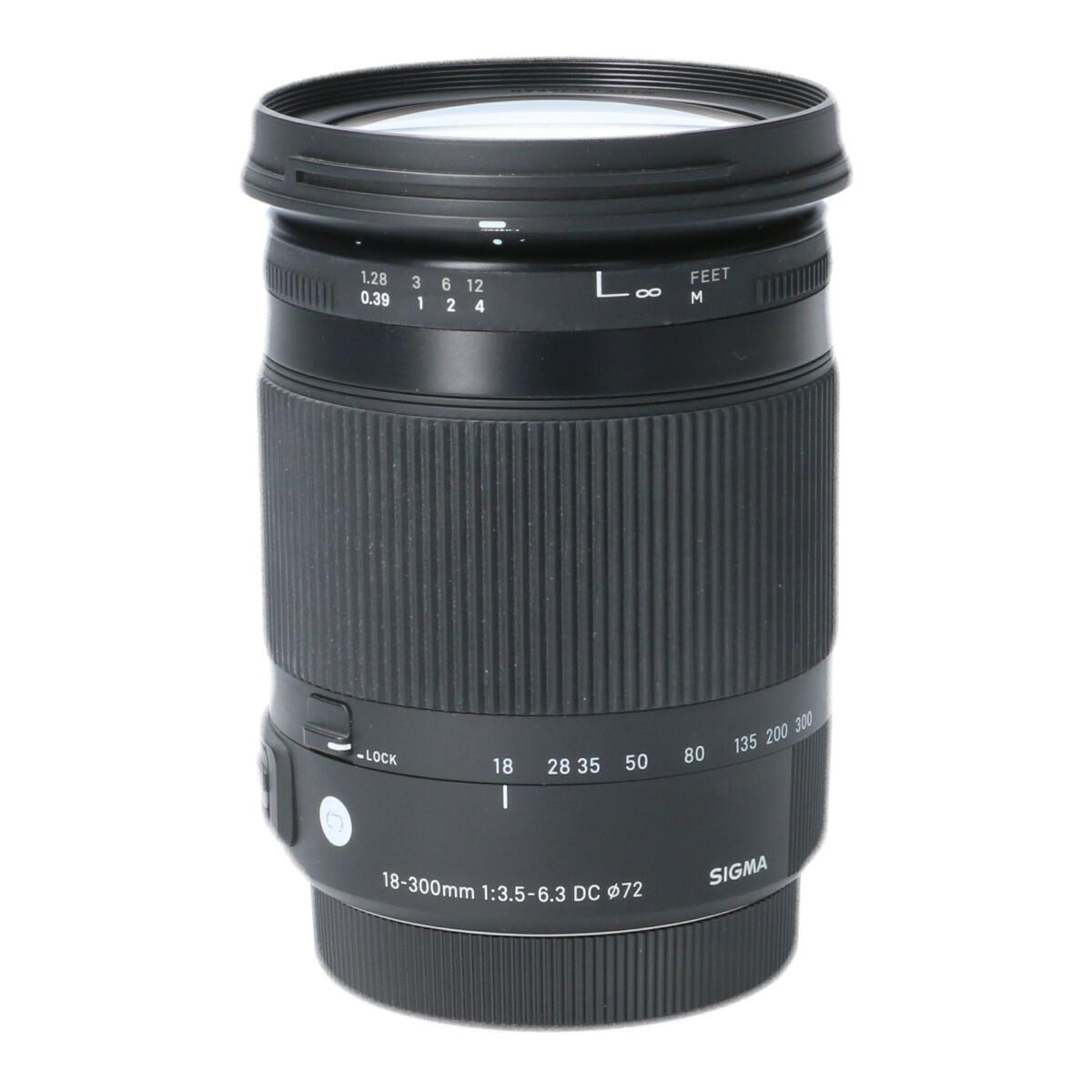 SIGMA EOS(C)18-300mm F3.5-6.3DC OS【中古】