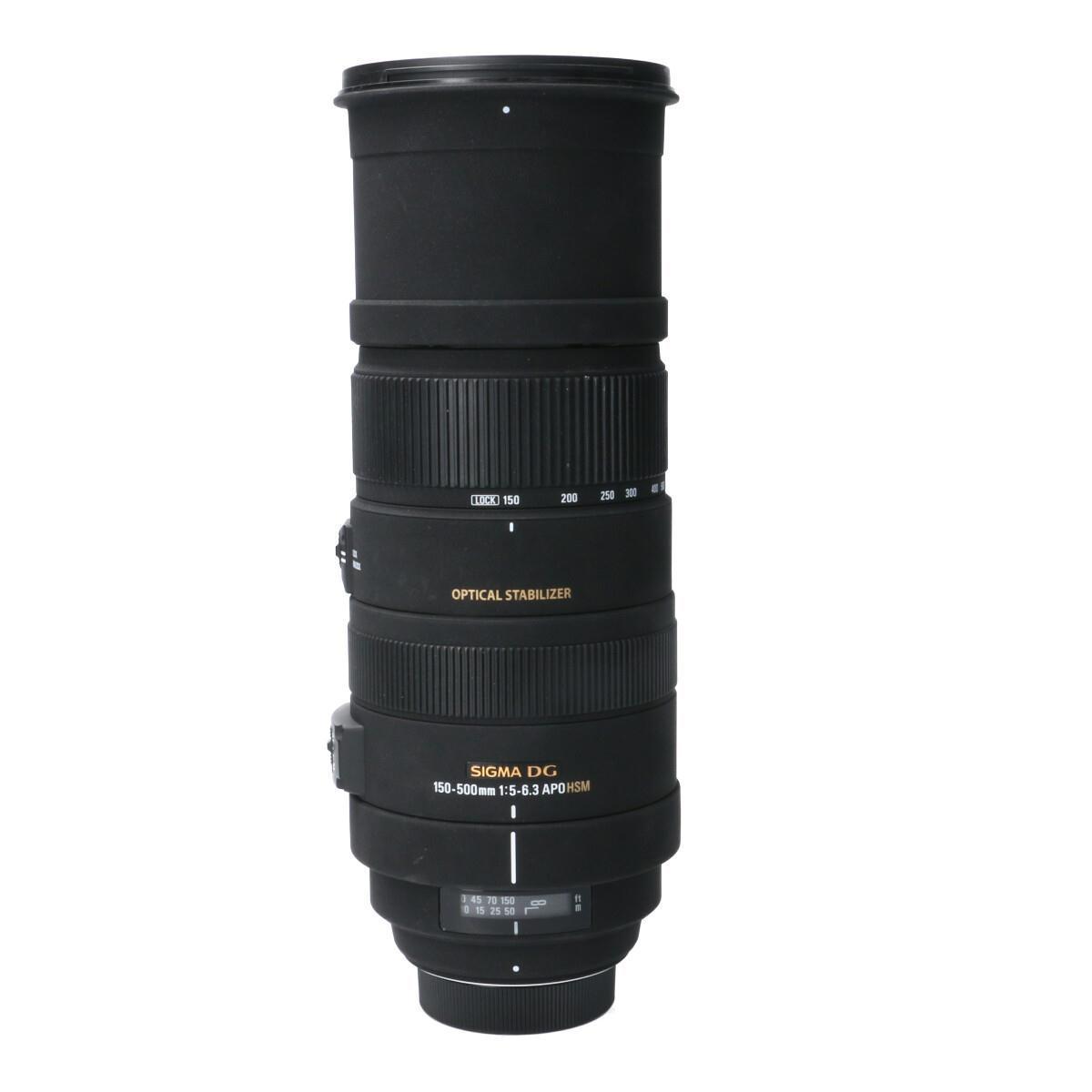 SIGMA ニコン150-500mm F5-6.3DG OS HSM【中古】