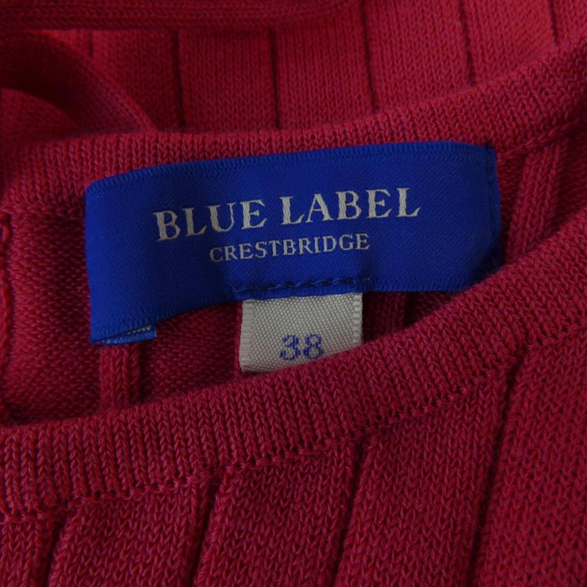 ブルーレーベルクレストブリッジ BLUE LABEL CRESTBRID ニット7bfy6gvY