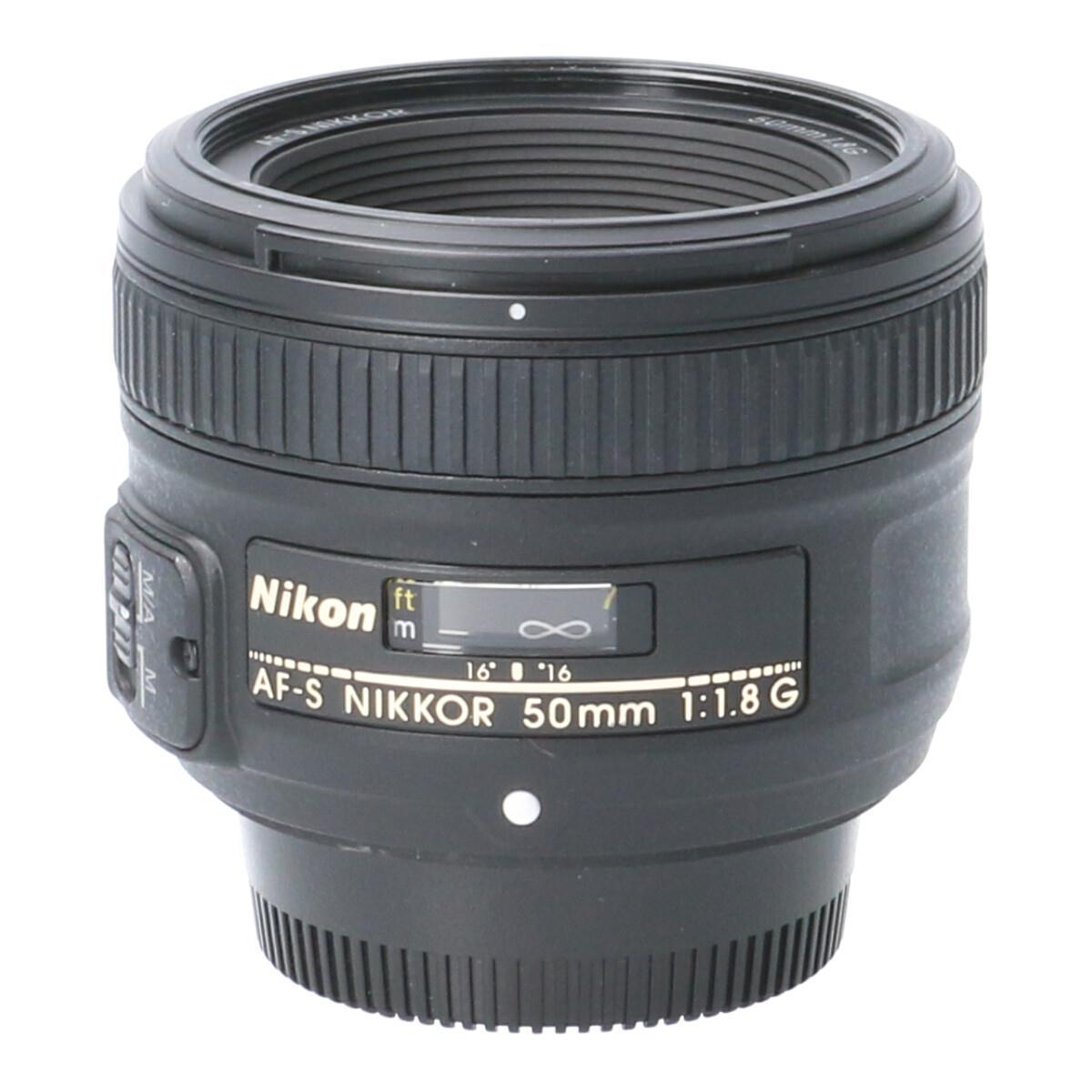 NIKON AF-S50mm F1.8G【中古】